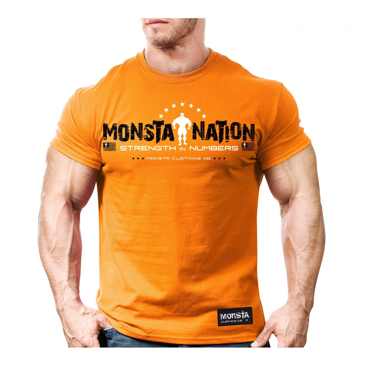 TEE: MONSTA NATION - Monsta Clothing Australia