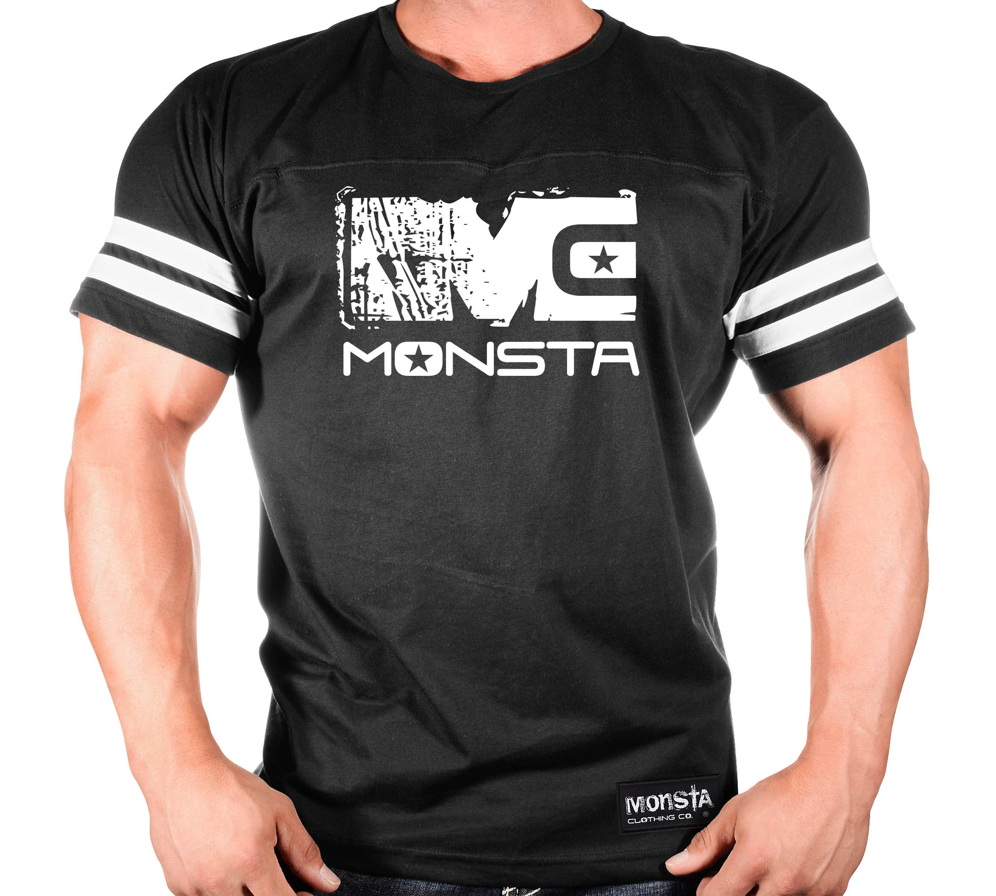 MONSTA: MC-Icon Signature Series-107 GYM TEE - Monsta Clothing Australia