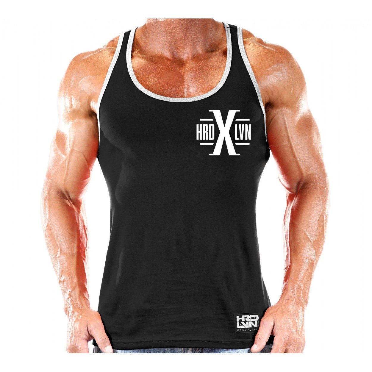 TANK: HARD LVN (X SERIES)-9 - Monsta Clothing Australia