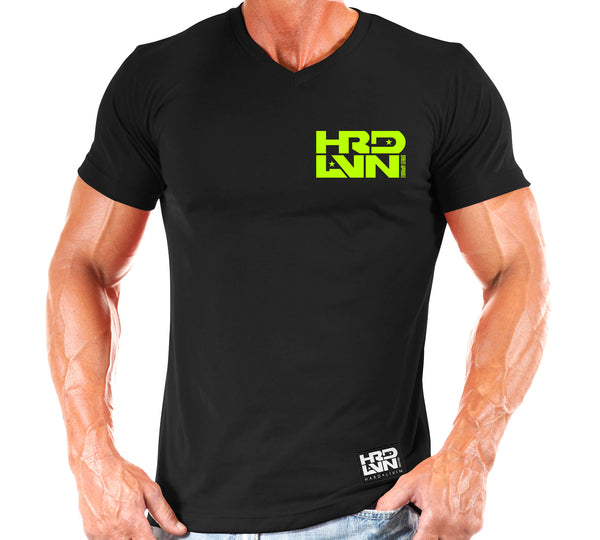 TEE: HARD LVN V NECK
