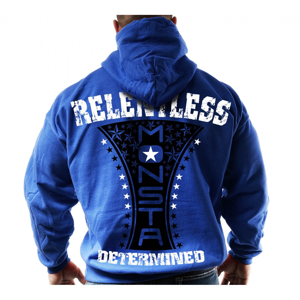HOODIE: RELENTLESS (DETERMINED)-138 - Monsta Clothing Australia