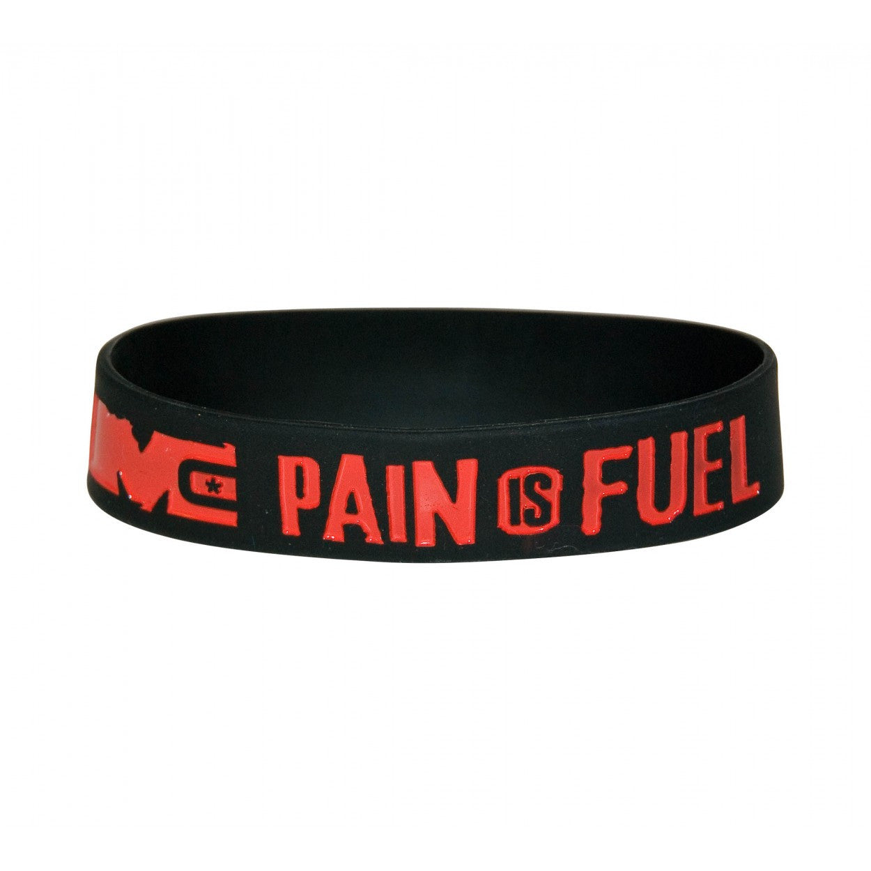 Wristband: Pain is Fuel - Monsta Clothing Australia