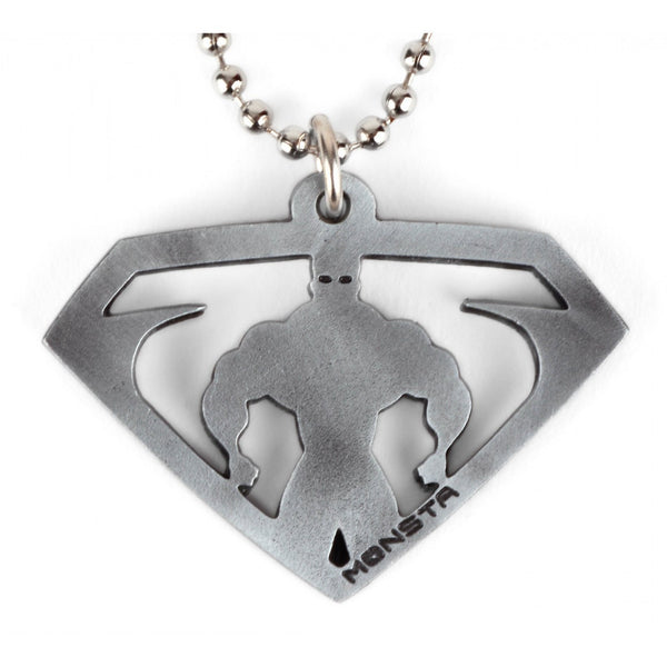 "Pendant & Chain: Monsta Man ""Superhero"" - Monsta Clothing Australia"