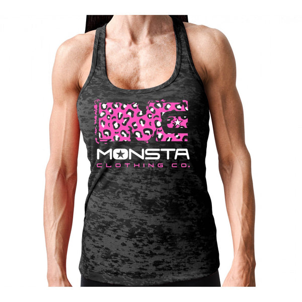 Tank: Monsta Cheetah-176 - Monsta Clothing Australia