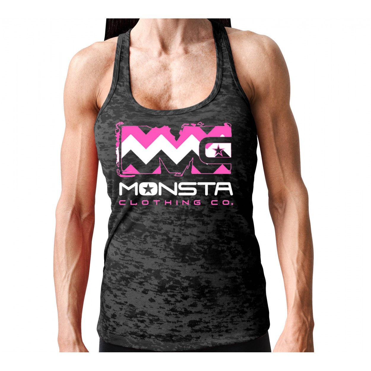 Tank: Monsta Chevron Razor-177 - Monsta Clothing Australia