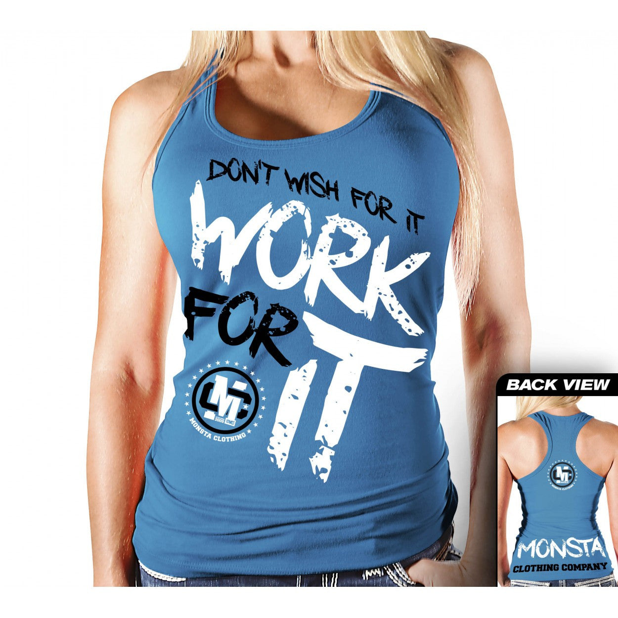 Tank: Work For It- 207 - Monsta Clothing Australia