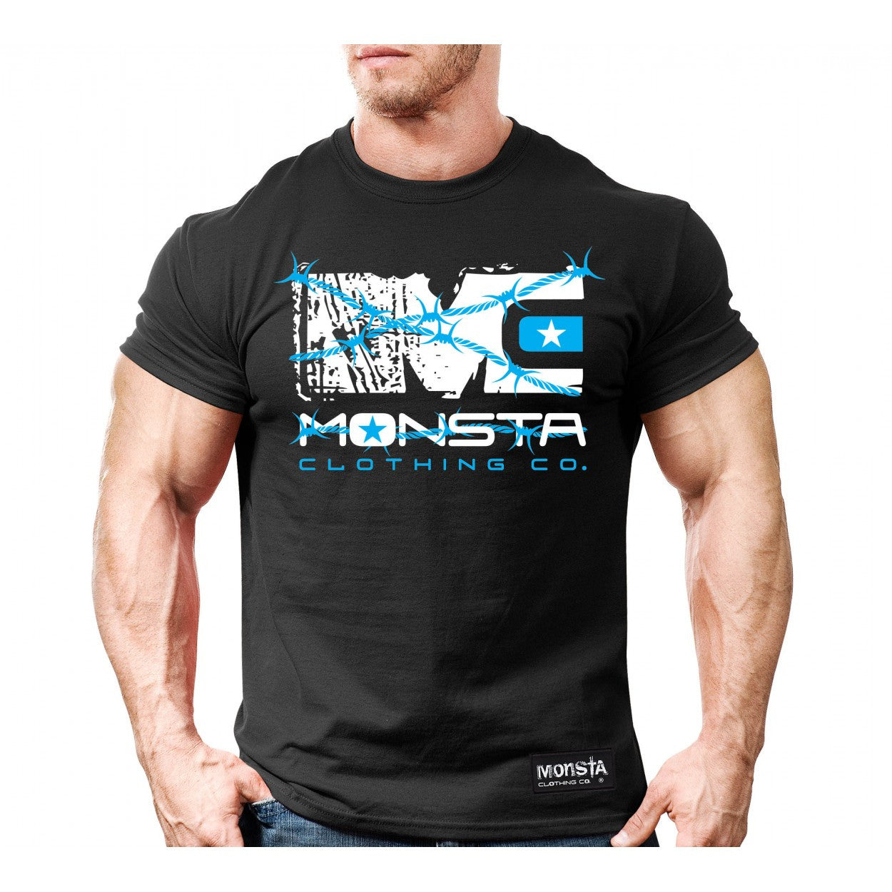 Tee: Determination - Monsta Clothing Australia