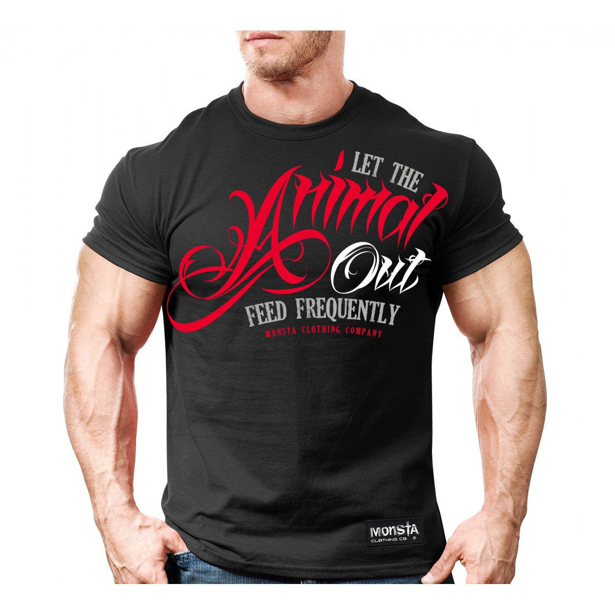Tee: Let The Animal Out - Monsta Clothing Australia