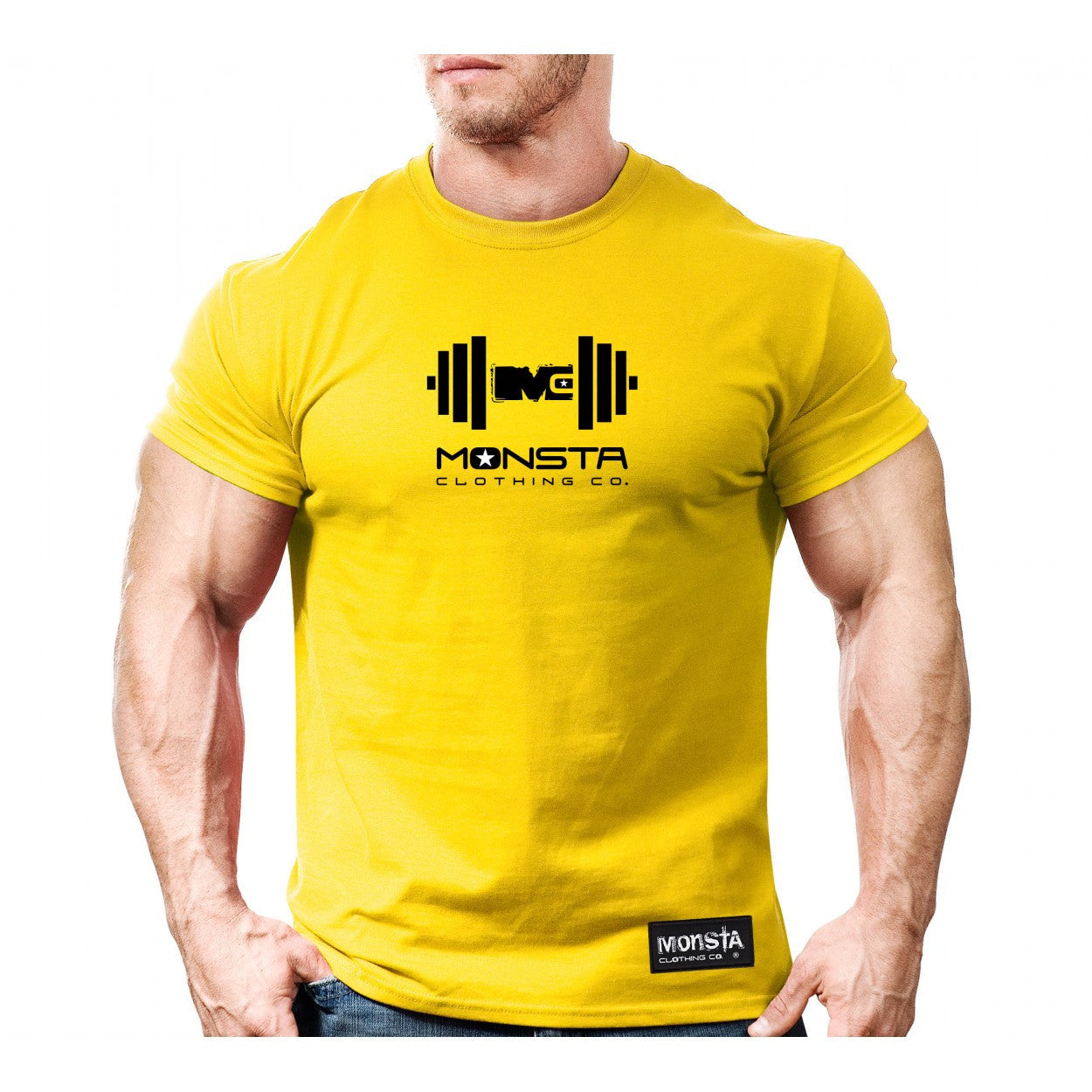 Tee: Monsta MC Drift Dumbbell - Monsta Clothing Australia