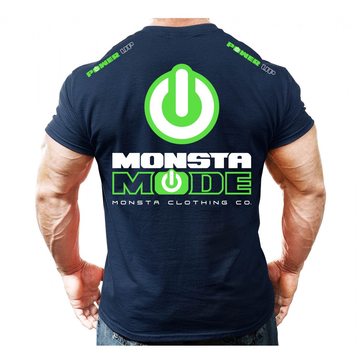 Tee: Monsta Mode Powering up - Monsta Clothing Australia