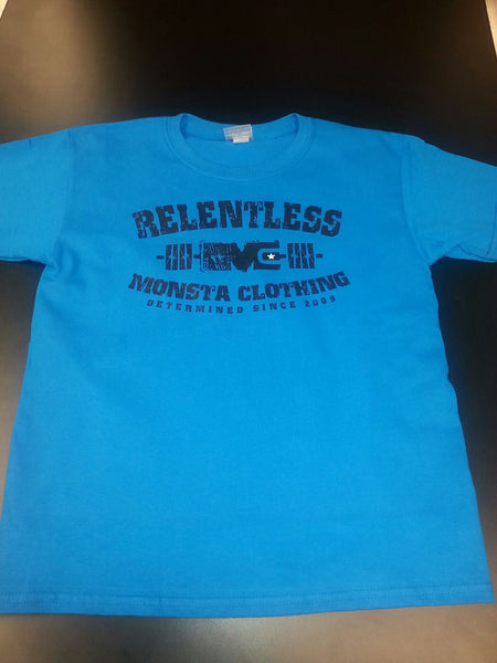 Tee: Children Wear Relentless - Monsta Clothing Australia