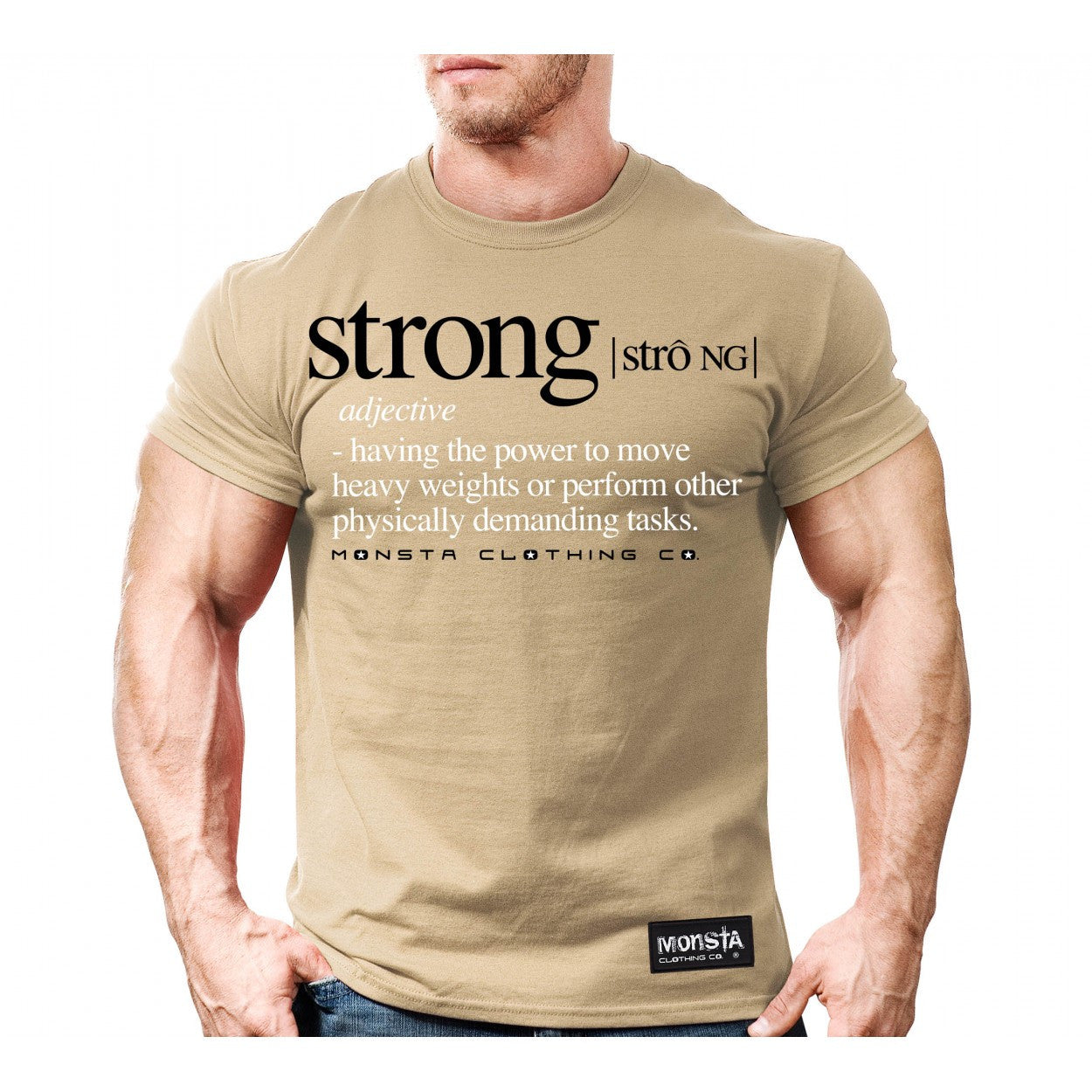 Tee: Strong Definition - Monsta Clothing Australia