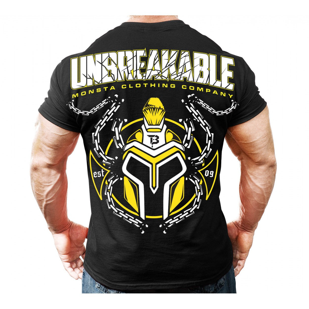 Tee: Unbreakable - Monsta Clothing Australia