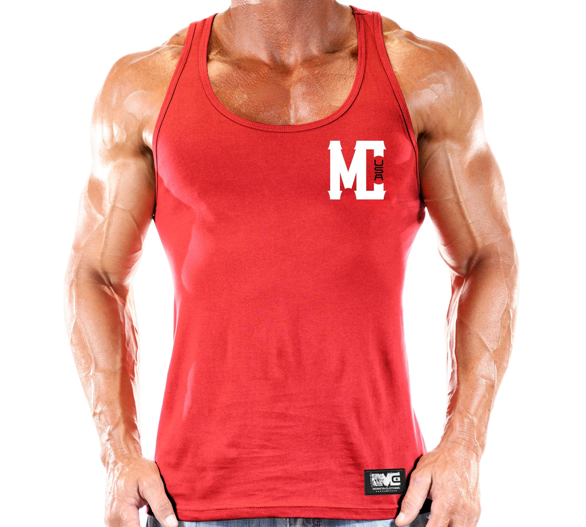 MC USA TANK - Monsta Clothing Australia