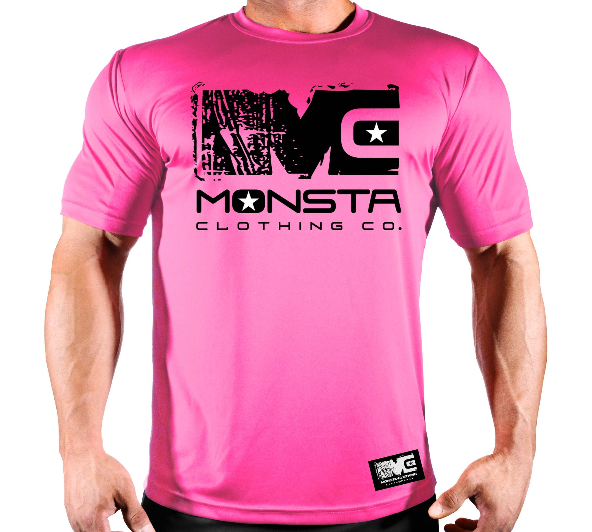 BREAST CANCER TEE 107 - Monsta Clothing Australia