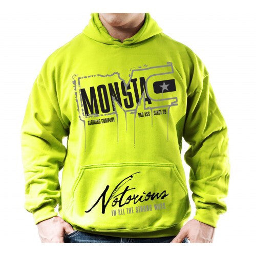 HOODIE: NOTORIOUS IN ALL THE STRONG WAYS-200 - Monsta Clothing Australia