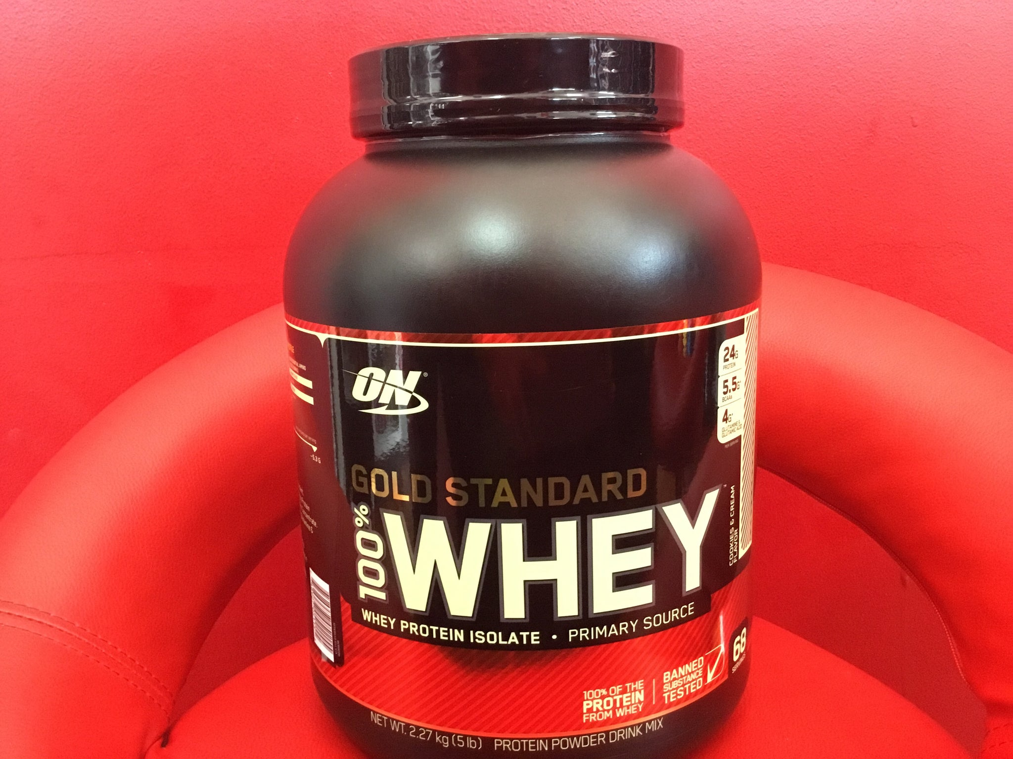 PROTEIN: ON GOLD STANDARD WHEY PROTEIN POWDER - Monsta Clothing Australia