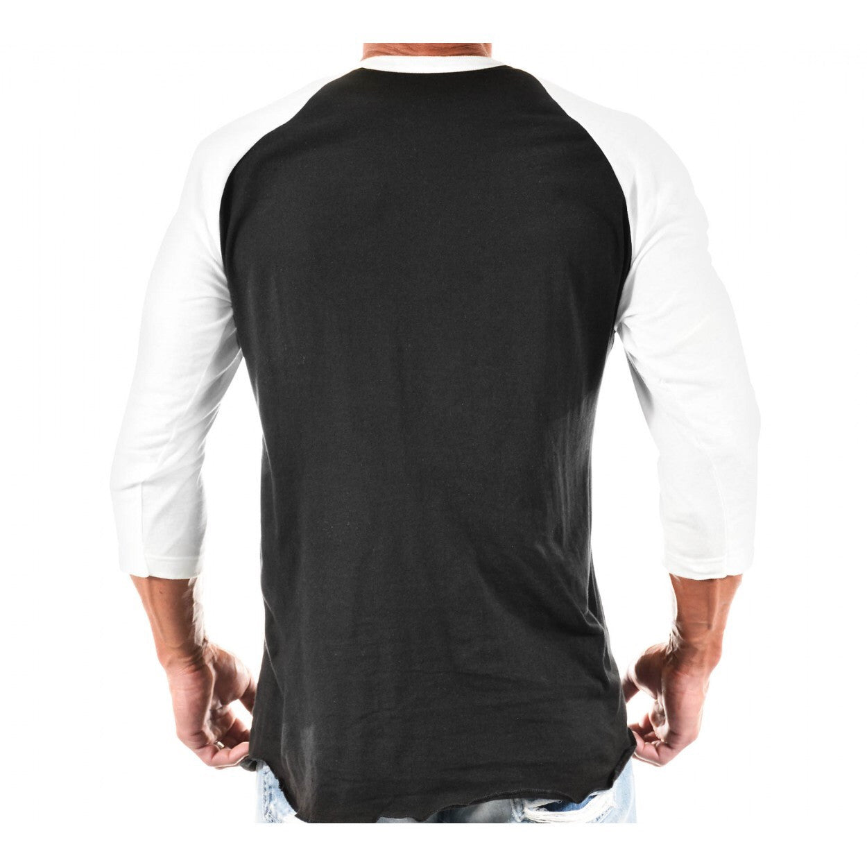 RAGLAN: HARD LVN 3/4 SLEEVE - Monsta Clothing Australia