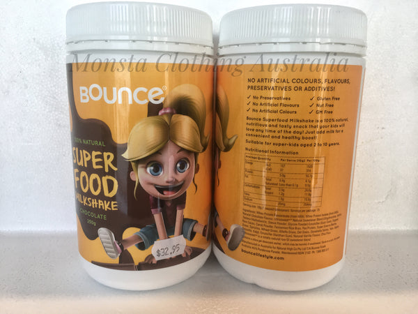 BOUNCE: SUPERFOOD MILKSHAKE - Monsta Clothing Australia