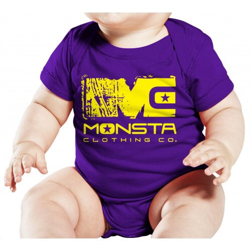 ONESIE: MC MONSTA ONESIE-025 - Monsta Clothing Australia