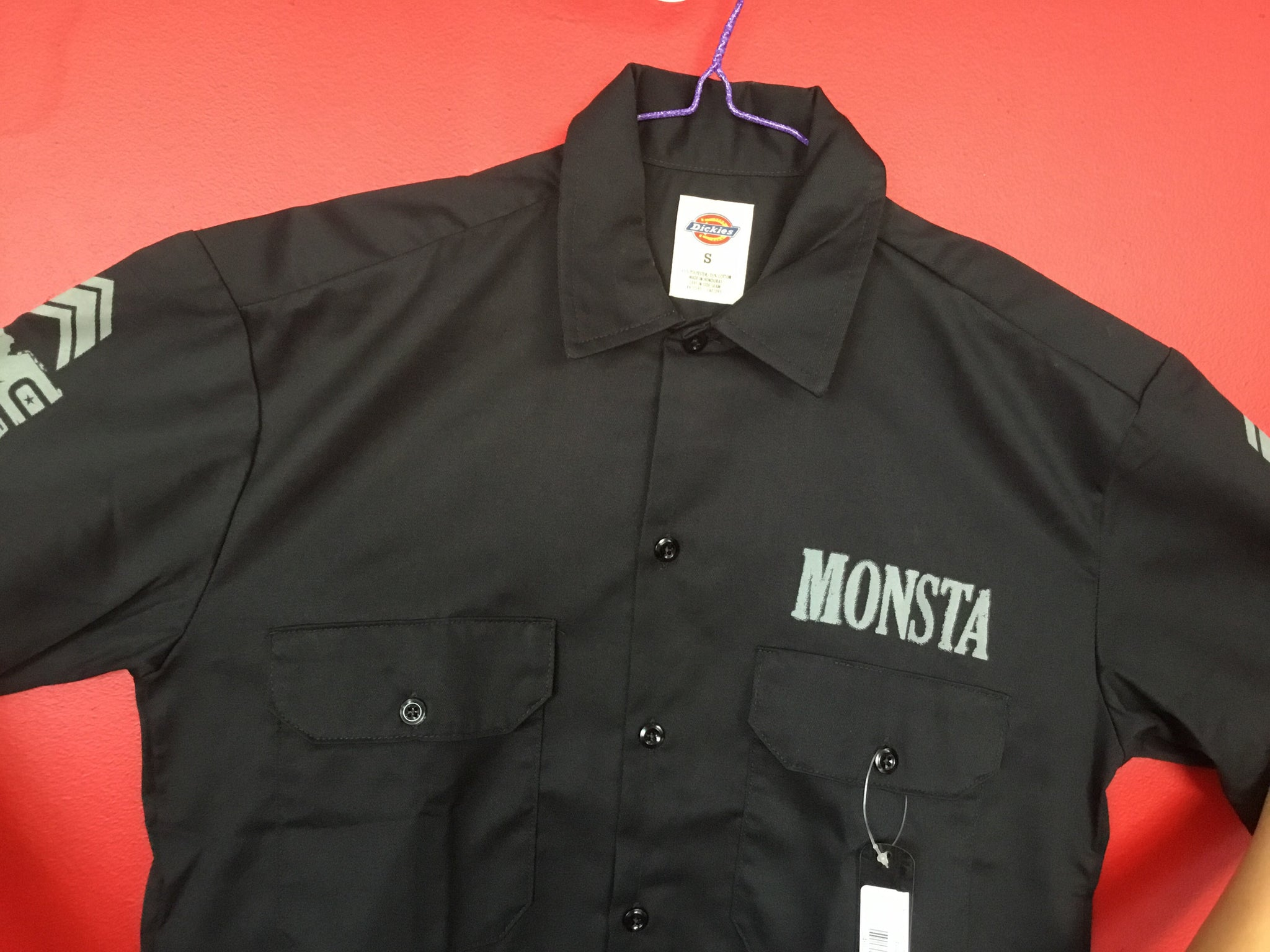 DRESS SHIRT: EMBRACE PAIN  -197 - Monsta Clothing Australia