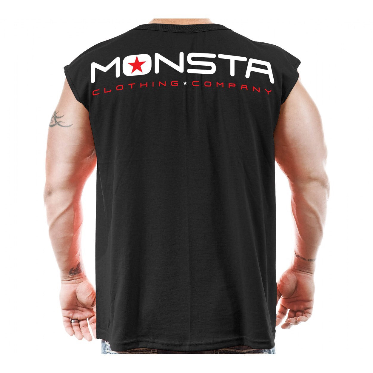SLEEVELESS: TAP OR BLEED SLEEVELESS TANK-176 - Monsta Clothing Australia