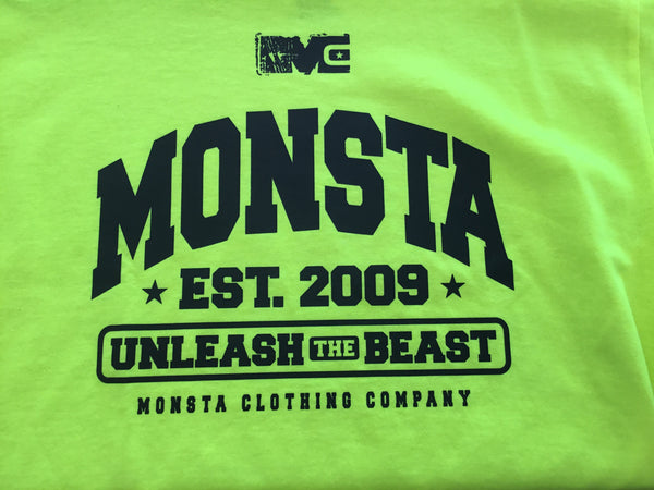 Tee: Children Wear Unleash the Beast - Monsta Clothing Australia