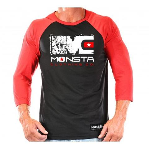 RAGLAN: MC RAGLAN - Monsta Clothing Australia