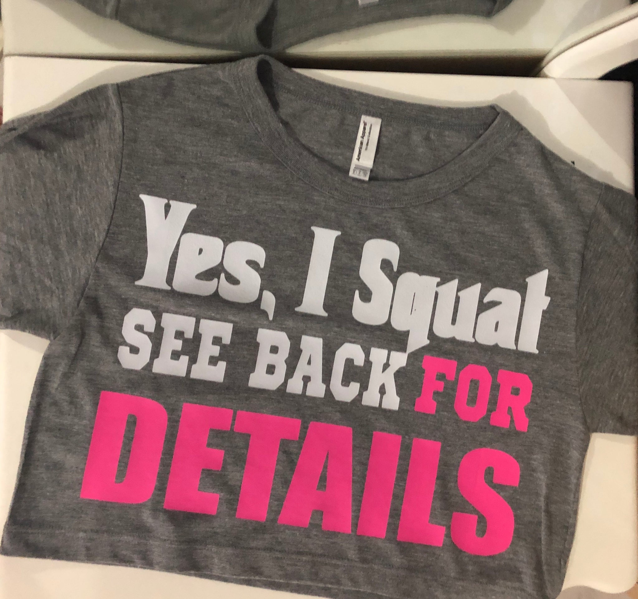HARDCORE: YES I SQUAT