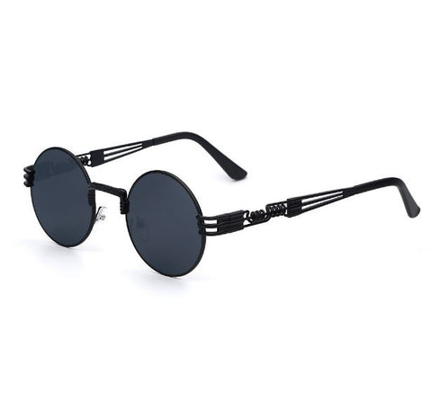 Luxury Steampunk Stainless Steel Sunglasses