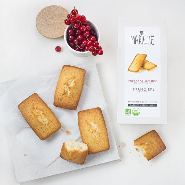 Financiers (almond cakes) - organic baking mix