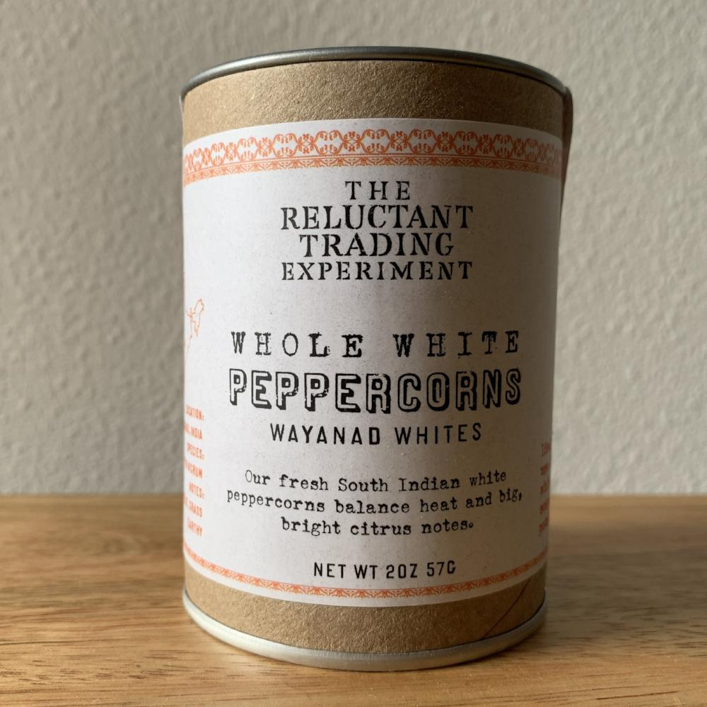 White Peppercorns - whole