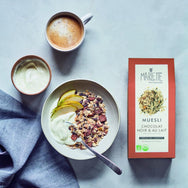 Dark & milk chocolate organic muesli