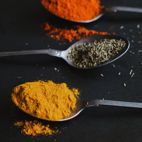 Turmeric powder - golden