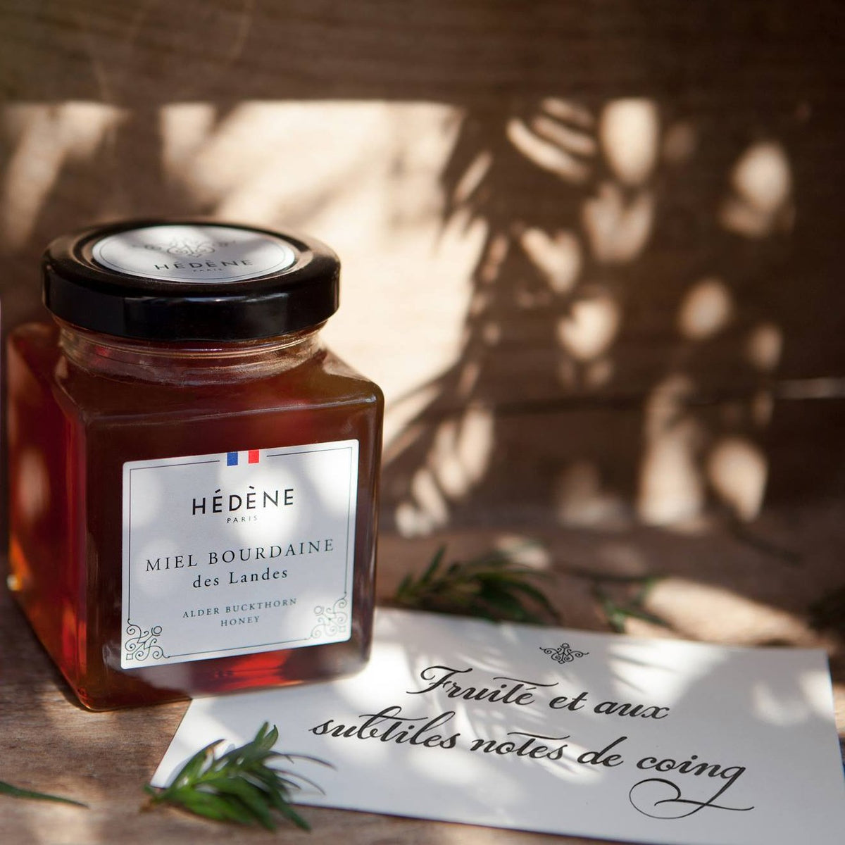 Alder buckthorn honey from Les Landes, France