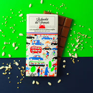 Milk chocolate & crispy cereals, 41% cocoa - Organic