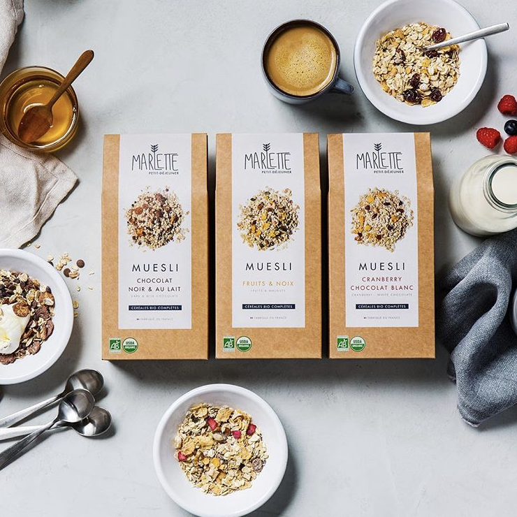 Fruits & walnuts organic muesli