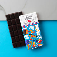 Small dark chocolate & cocoa nibs, 71% cocoa - Organic