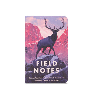 Field Notes Brand - National Parks Series