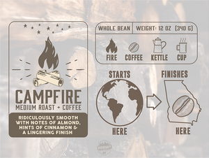 Bushcraft Coffee Company - Campfire Coffee™ Medium Roast