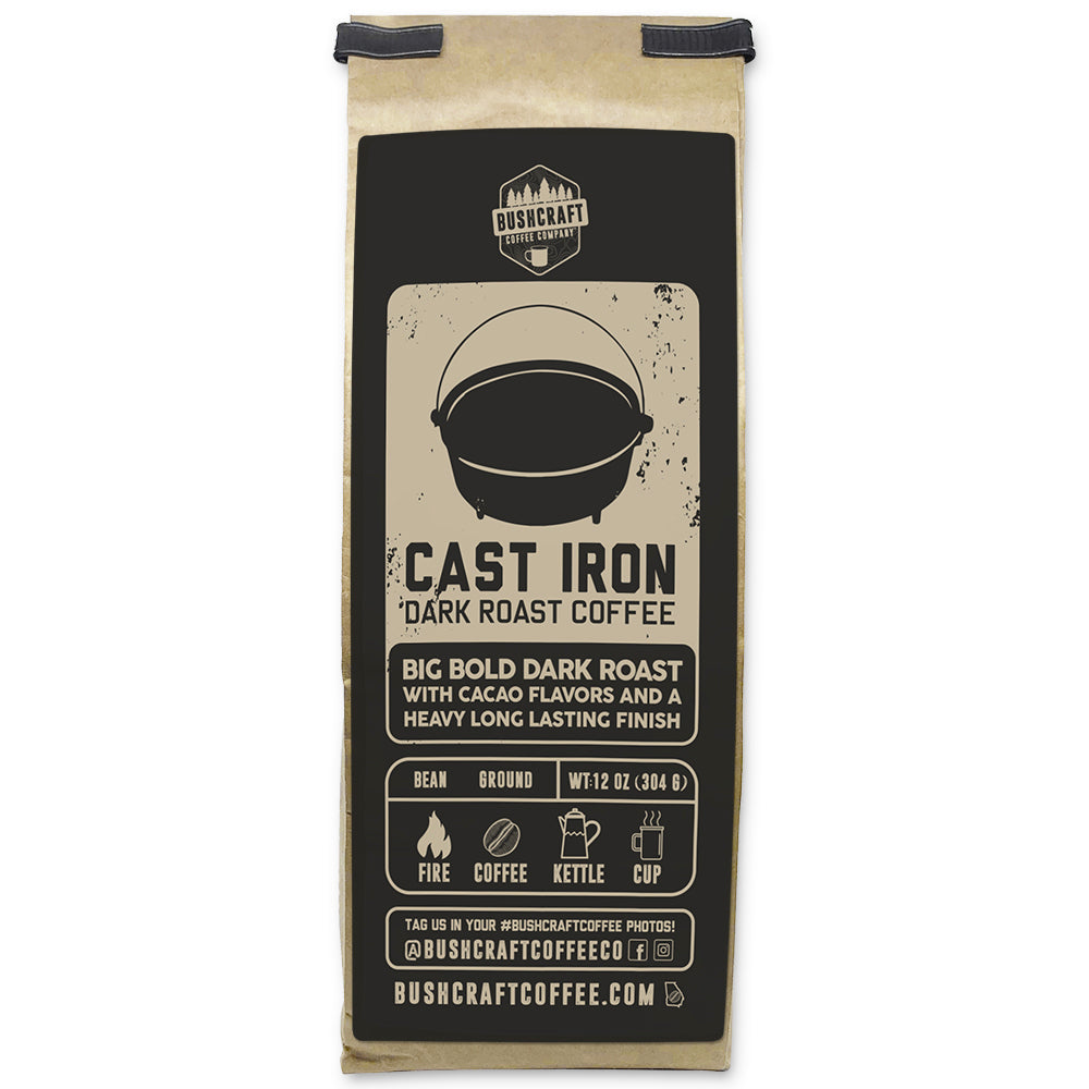 Bushcraft Coffee - Cast Iron Coffee™ Dark Roast