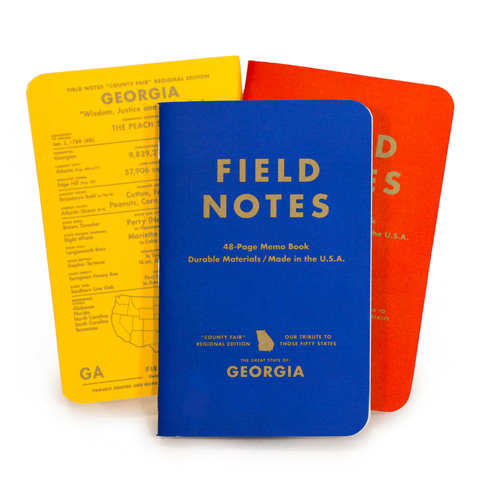 Field Notes Brand - County Fair Georgia Edition