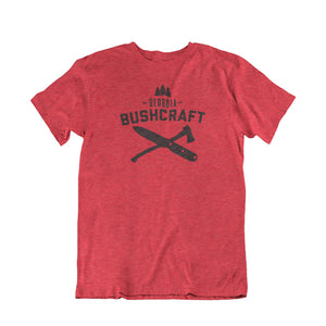 Georgia Bushcraft Logo T-Shirt - Vintage Red