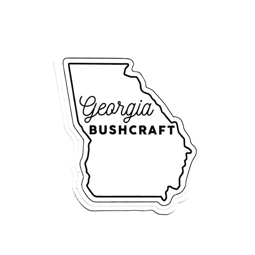 Georgia State Bushcraft Sticker