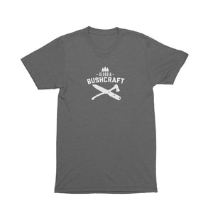 Georgia Bushcraft Logo T-Shirt - Heather Gray