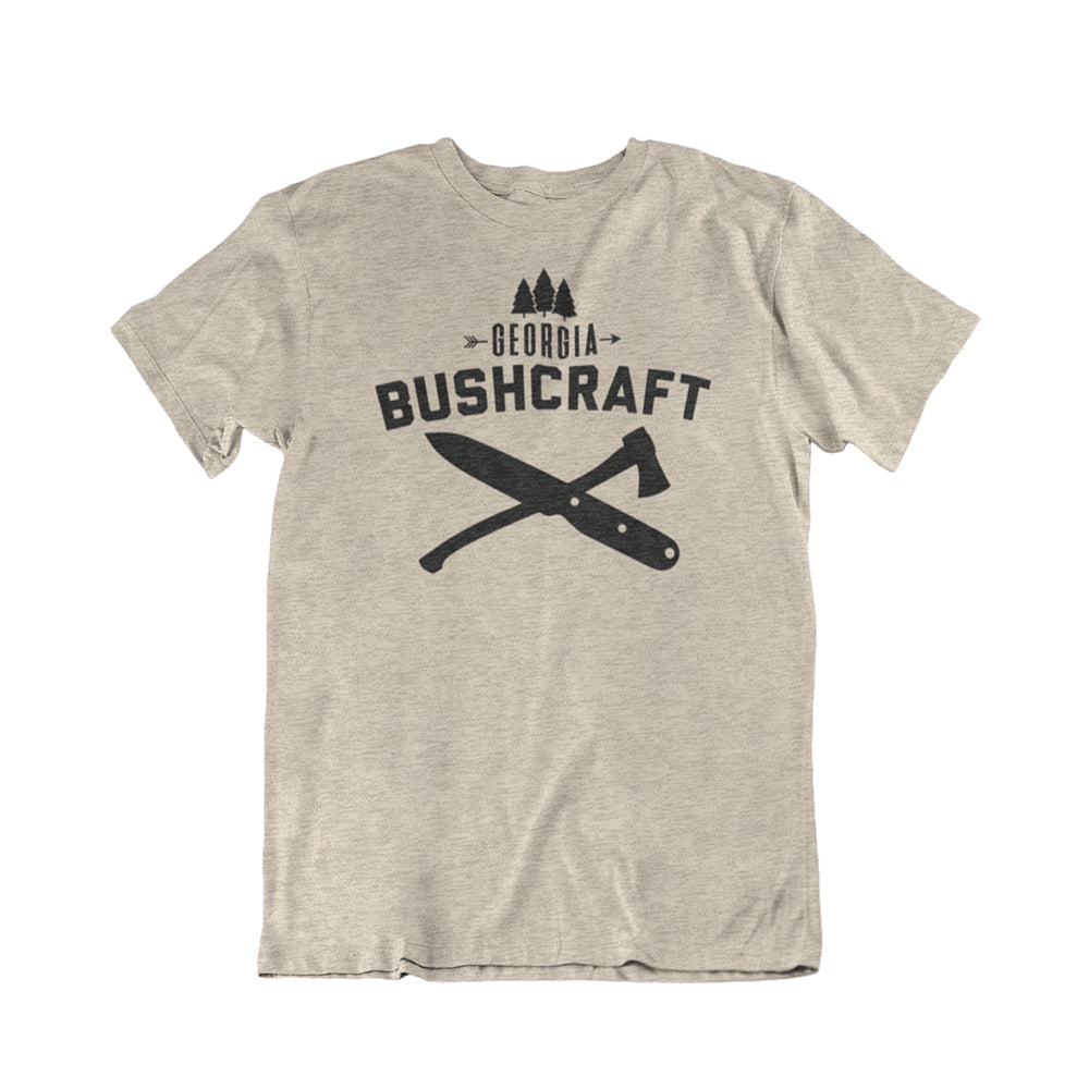 Georgia Bushcraft Logo T-Shirt - Sand