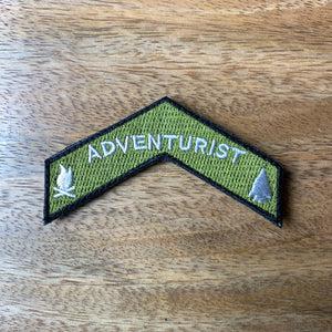 Georgia Bushcraft Patch - Embroidered Chevron