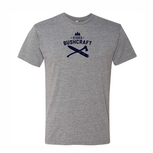 Georgia Bushcraft - Logo Short Sleeve T-Shirt - Heather Gray
