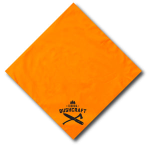 Georgia Bushcraft Bandana - Blaze Orange