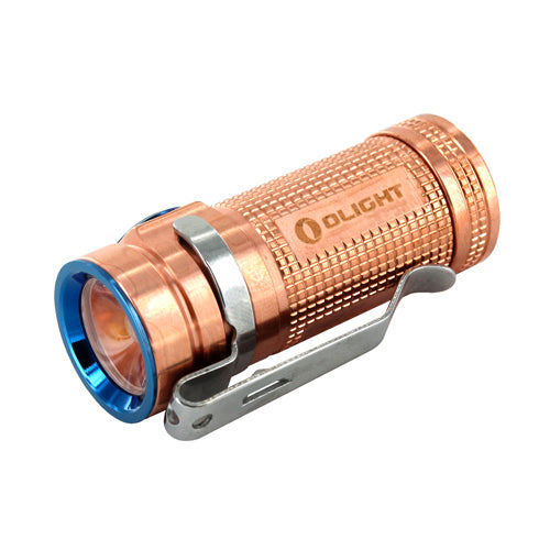 Olight S Mini CU LED Flashlight (Raw Copper)